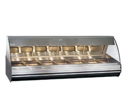 "Alto Shaam HN2-96-SS Heated Display Deli Case, Full Serve, 96"", Countertop, Stainless"