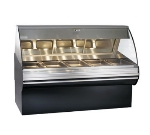 Alto Shaam HN2SYS-72-BLK Full Service Deli Display Case w/ Base, Heated, 72-in, Black