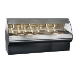"Alto Shaam HN2SYS-96-BLK Full Service Deli Display Case w/ Base, Heated, 96"", Black"