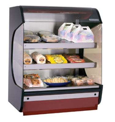 Alto Shaam HSM-38/3S 2081 Hot Food Merchandiser w/ (3) Heated Glass Shelves, 208/1 V