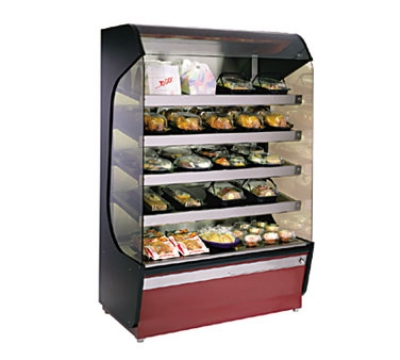 Alto Shaam HSM-48/5S 2081 Hot Food Merchandiser w/ (5) Heated Glass Shelves, 208/1 V