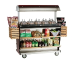 Alto Shaam ITM2-48/DLX 2301 Deluxe Island Hot Food Takeout Merchandiser, 67-in W, Export
