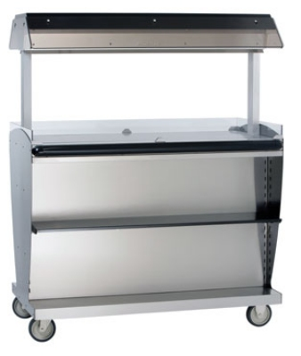 "Alto Shaam ITM2-48/STD 120 Island Hot Food Takeout Merchandiser, 60.5 x 48"", 120 V"
