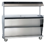 "Alto Shaam ITM2-72/STD 120 Island Hot Food Takeout Merchandiser, 60.5 x 72"", 120 V"