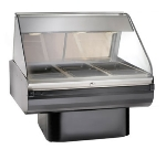 Alto Shaam PD2SYS-48-SS Full Serve Hot Deli, 48-in, (1) 8 x 48-in Shelf, Stainless
