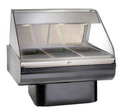 "Alto Shaam PD2SYS-48-SS Full Serve Hot Deli, 48"", (1) 8 x 48"" Shelf, Stainless"