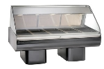 "Alto Shaam PD2SYS-72-C Full Serve Hot Deli, 72"", (2) 8 x 36"" Shelf, Custom"