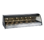 "Alto Shaam TY2-96-BLK 96"" Full-Service Countertop Heated Display Case - (7) Pan Capacity, 120v/208-240v/1ph"