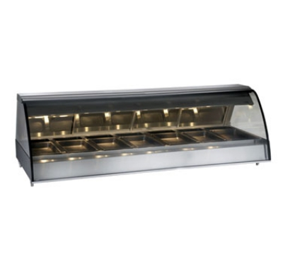 Alto Shaam TY2-96-SS Full Serve Heat Deli Display Case, Countertop, 96-in, Stainless