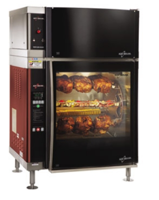Alto Shaam AR-7EVH-DBLPANE 2081 Electric 7-Spit Commercial Rotisserie, 208v/1ph