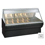 "Alto Shaam EC2SYS-72/P-SS Self Service Heated Display Case, 72"", Stainless"