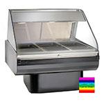 "Alto Shaam PD2SYS-48-C Full Serve Hot Deli, 48"", (1) 8 x 48"" Shelf, Custom"
