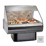"""Alto Shaam PD2SYS-48/P-SS 120 48"""" Display Case, Pedestal Base & Work Shelf, Stainless, 120/208-240/1 V"""