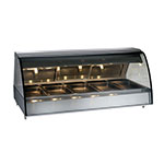 "Alto Shaam TY2-72/PL-BLK Self Serve Heat Deli Display Case, Open Left Side, 72"", Black"