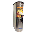Bloomfield 4G-35NTD 4-gal Narrow Iced Tea Dispenser w/ Handles, Stainless