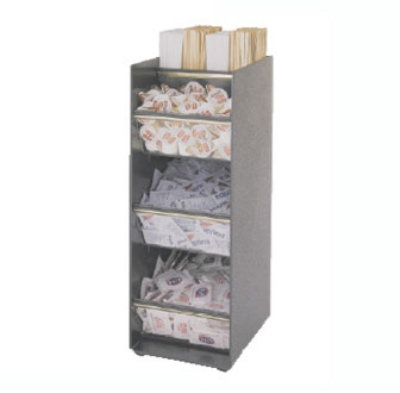 Bloomfield 3011-CONDHLD 3-Tier Condiment Stand w/ St