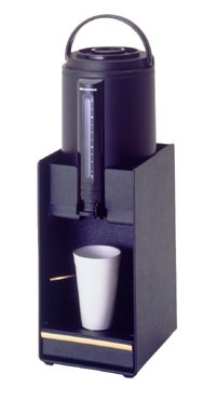 "Bloomfield 3871-NS-SRVST Plastic Airpot Serving Stand for Cups Up To 7"" Tall"
