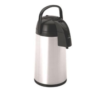 Bloomfield 7880-APS 100-oz Pump Airpot w/ Brew-Thru Steam, Glass Liner, Stainless Body