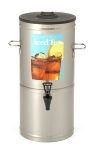 Bloomfield 8802-5G Portable 5-Gallon Tea Dispenser w/ Handles, Stainless