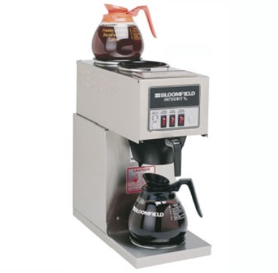 Bloomfield 9003-D3 Integrity Pourover Coffee Brewer, 1-Lower/2-Upper Warmers, 120V
