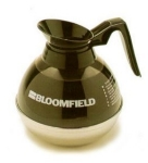 Bloomfield REG8895BL3 Plastic & Stainless Unbreakable Decanter w/ Black Handle