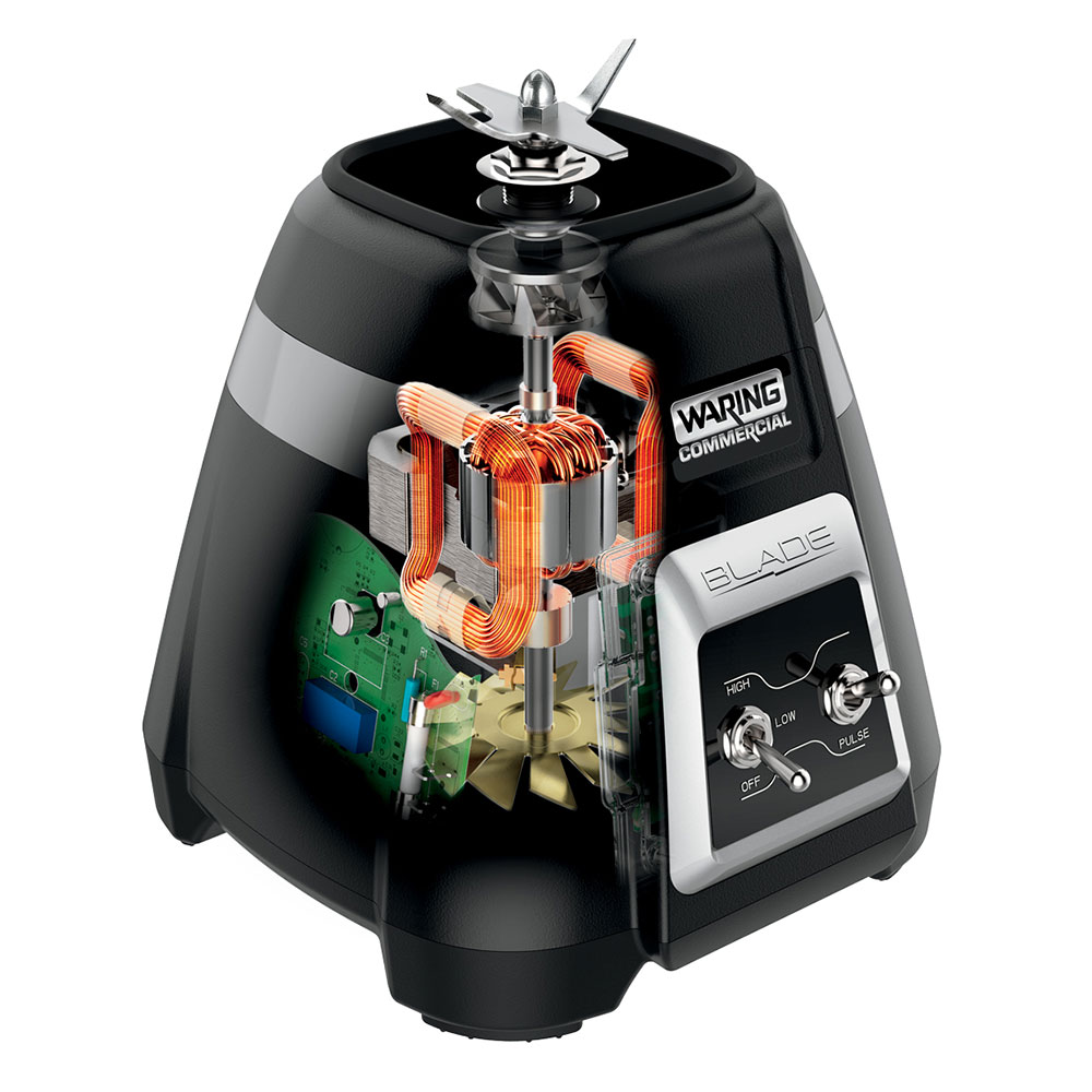 Waring BB300S Countertop Drink Blender w/ Metal Container