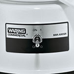 Waring BJ120C Compact Citrus Bar Juicer w/ Lift-Off Bowl & 1-liter Serving Container