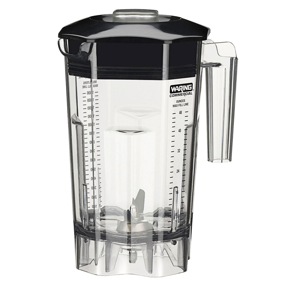 Waring CAC106 48-oz Blender Container for Margarita Madness Elite Series w/ Blade Assembly & Lid