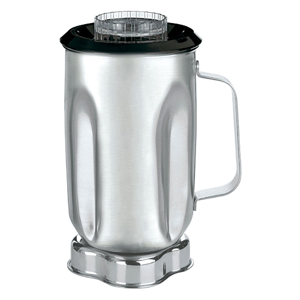 Waring CAC33 32-oz Stainless Blender Container for 700, 7011, AD1 & AD2 w/ Lid