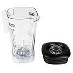 Waring CAC95 64-oz Copolyester Blender Container for MX Series w/ Lid, BPA-Free