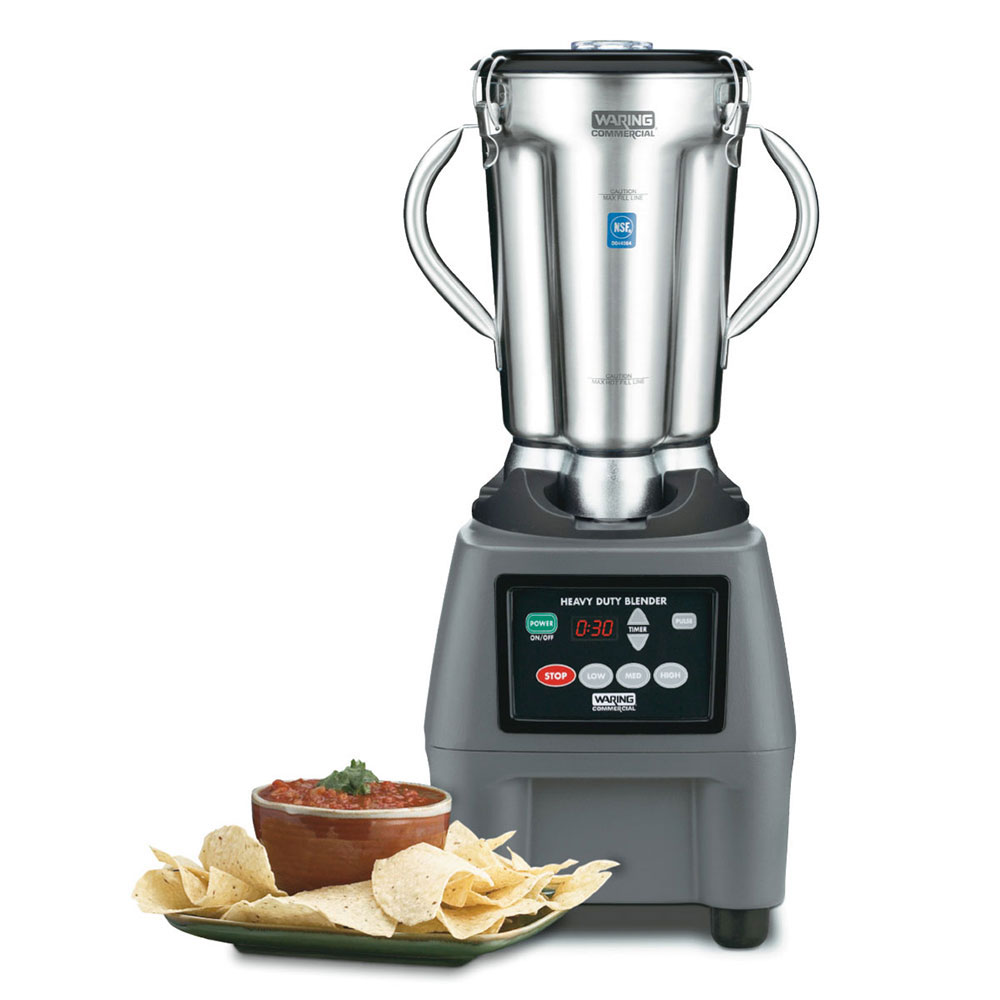 Waring CB15T 1-gal. Countertop Food Blender w/ Stainless Container