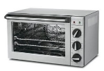 Waring CO1500B Convection Oven w/ Timer, 1.5-Cubic Feet, Brushed Stainless