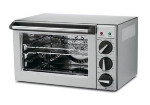 Waring CO900B Convection Oven w/ Timer, .9-Cubic Feet, Brushe