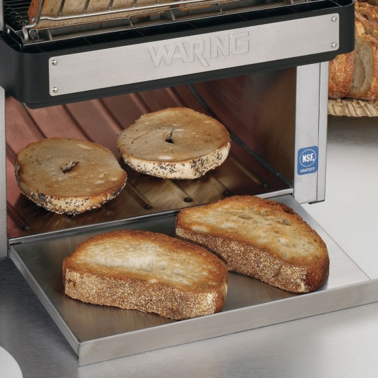 "Waring CTS1000 Conveyor Toaster - 450-Slices/hr w/ 2"" Product Opening, 120v"