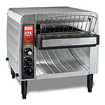 Waring CTS1000B Conveyor Toaster w/ 1000-Slices/Hr, Brushed Stainless, 208v