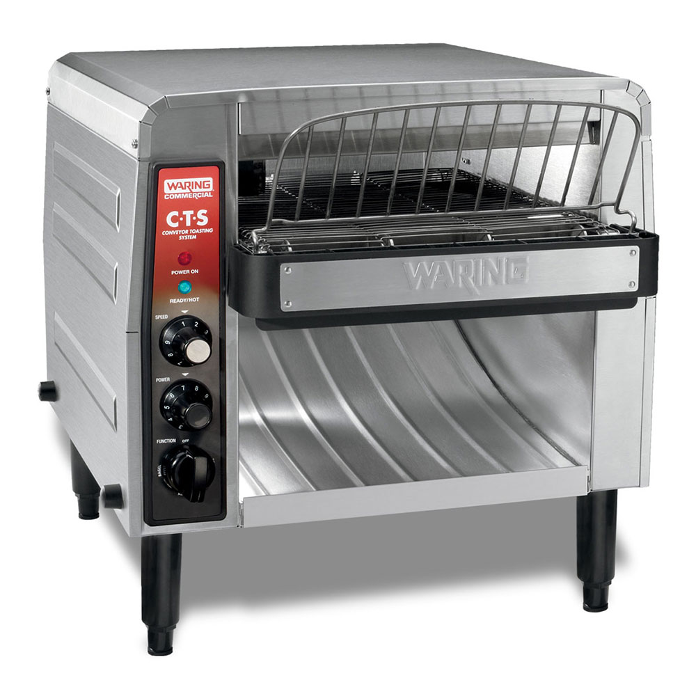 "Waring CTS1000B Conveyor Toaster - 1000-Slices/hr w/ 2"" Product Opening, 208v/1ph"