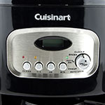 Waring DCC-1100BKW Cuisinart® 12-cup Programmable Coffeemaker w/ Glass Carafe, Black/Stainless