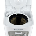 Waring DCC-1100W Cuisinart® 12-cup Programmable Coffeemaker w/ Glass Carafe, White/Stainless