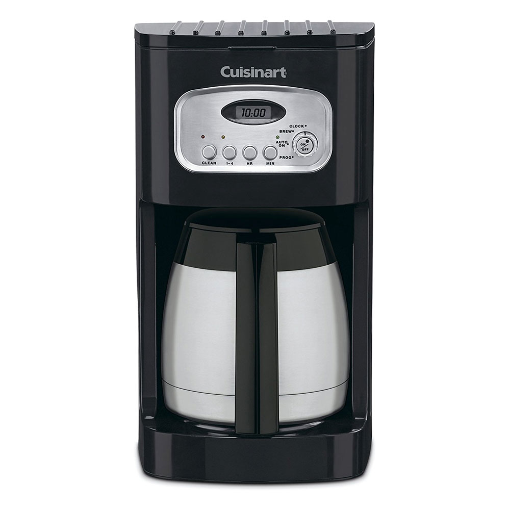 Waring DCC-1150BKW Cuisinart® 10-cup Programmable Coffeemaker w/ Stainless Carafe, Black/Stainless
