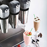 Waring DMC180DCA Wall-Mounted Heavy Duty Commercial Drink Mixer w/ 2-Speeds & Auto Start/Stop