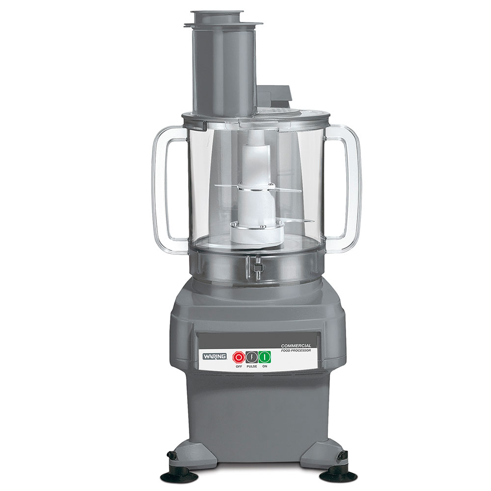 Waring FP2200 1-Speed Continuous Feed Food Processor w/ 4-qt Bowl, 120v