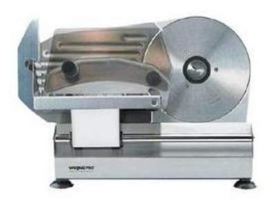 Waring FS800 Food Slicer w/ Slice Control Knob, Stainless Steel