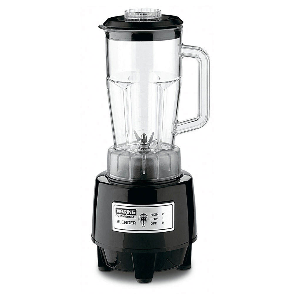 Waring HGB146 Commercial Bar Blender - 48-oz Capacity, Polycarbonate, 120/1V