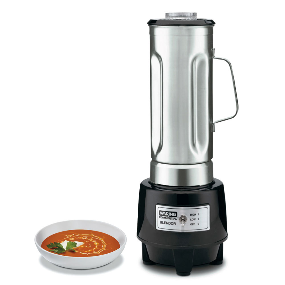 Waring HGB150 2-Speed Food Beverage Blender w/ .5-gal Capacity & Polycarbonate Housing