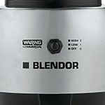 Waring HGBSS Countertop All Purpose Blender w/ Metal Container