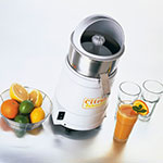 Waring JC4000 Heavy Duty Juicer w/ Universal Citrus Reamer & Stainless Collector