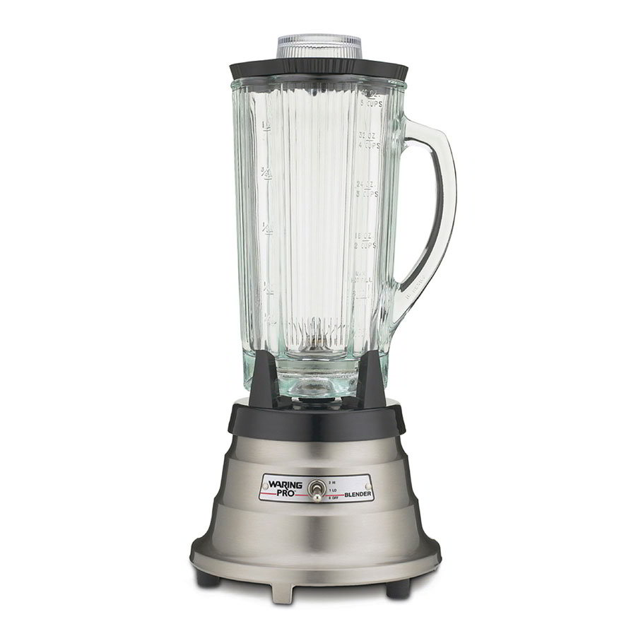 Waring MBB518 2-Speed Food/Beverage Blender w/ 40-oz Glass Carafe, Stainless