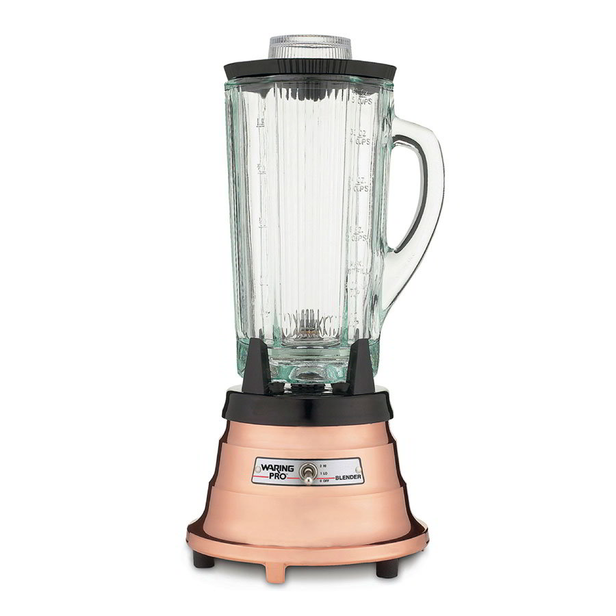 Waring MBB520 2-Speed Food/Beverage Blender w/ 40-oz Glass Carafe, Brushed Copper