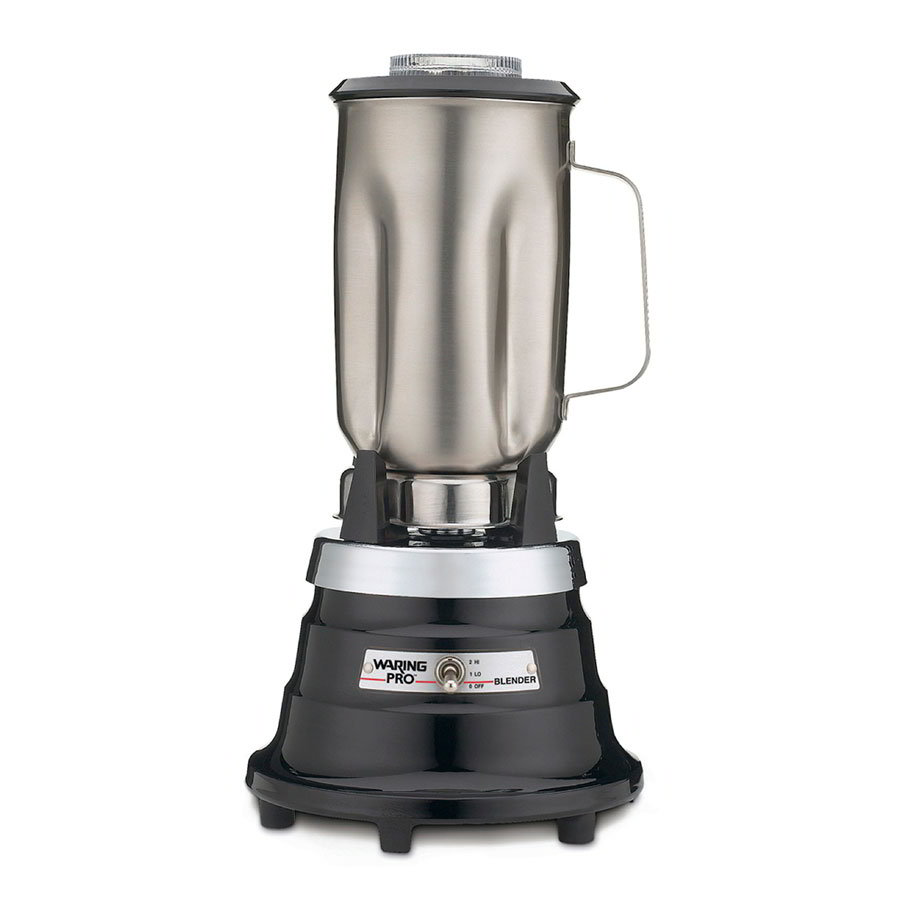 Waring PBB25 2-Speed Specialty Blender w/ 32-oz Stainless Carafe, Ebony