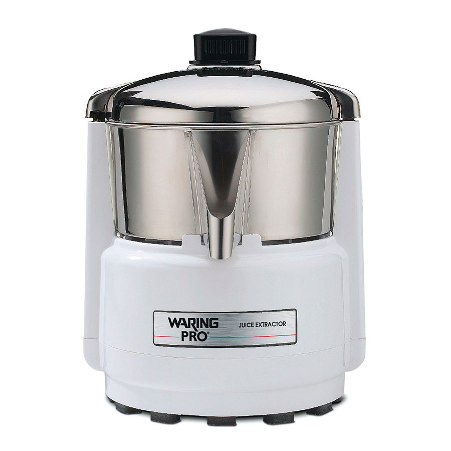 Waring PJE401 Pulp-Free Juice Extractor, Quite White/Stainless